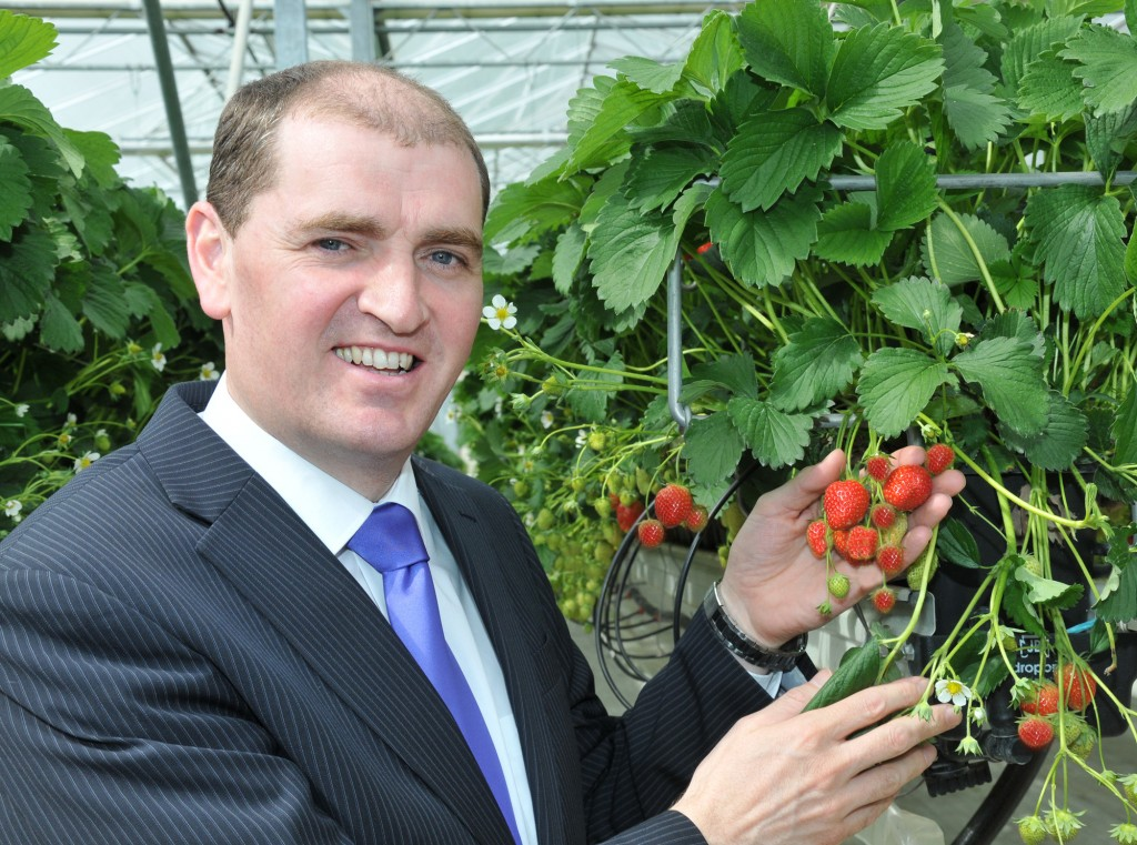 Paul Kehoe TD on Kearns Fruit Farm